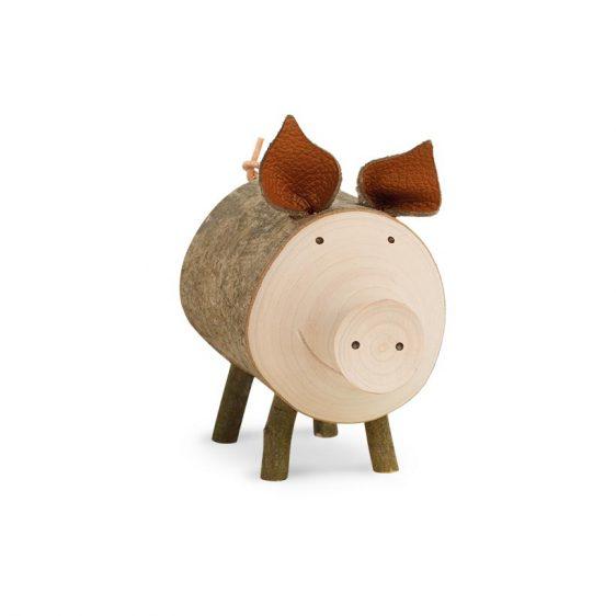 Gluecksschwein Borsti stehend groß