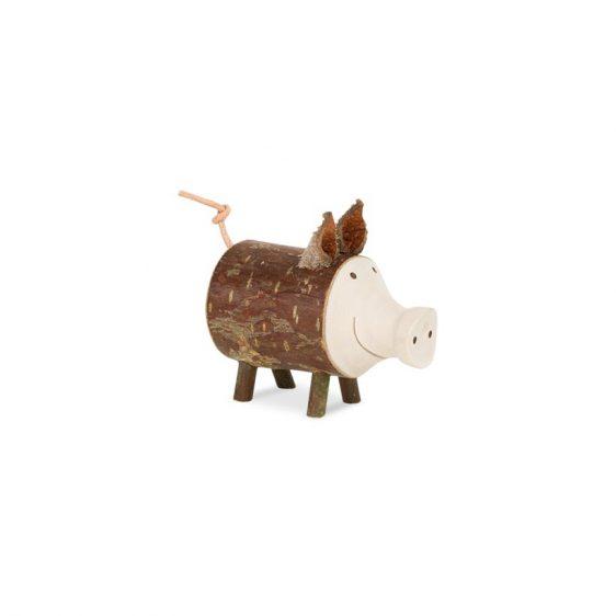 Gluecksschwein Borsti stehend klein