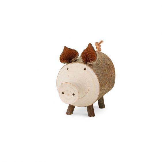 Gluecksschwein Borsti stehend mittel