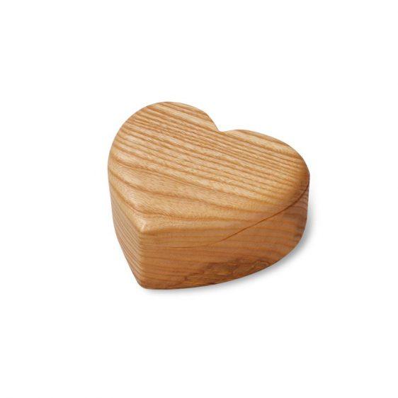 Herzdose Holz