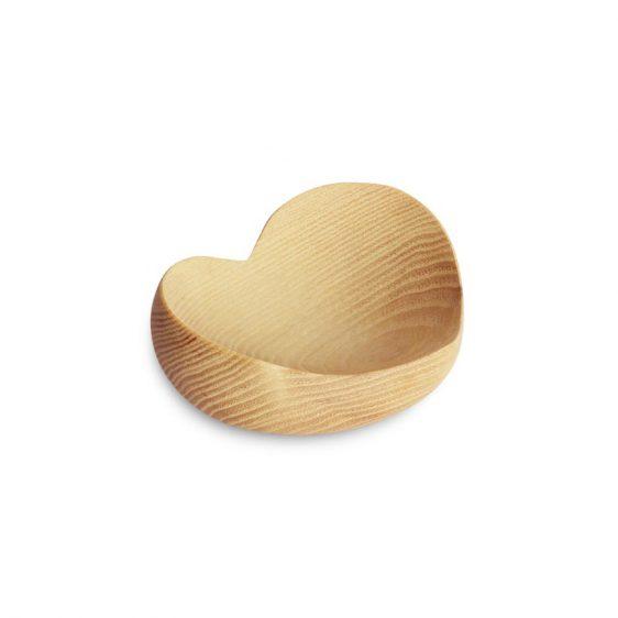Herzschale Holz mittel