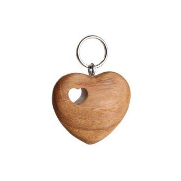 Schlüsselanhänger Herz in Herz