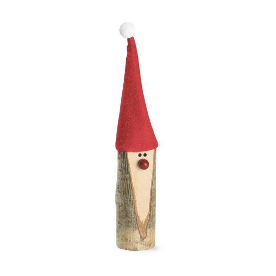 Weihnachtsmann mit Filzmuetze